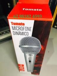 Microfone Dinamico Profissional Alta Qualidade para Karaoke Cabo 3m e Ganhe Brinde