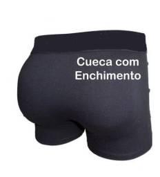 Cuecas masculina com enchimento