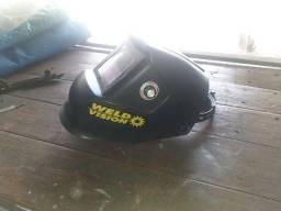 Máscara de solda weld vision...150, 00reais