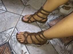 Desapego Sandália gladiadora 34
