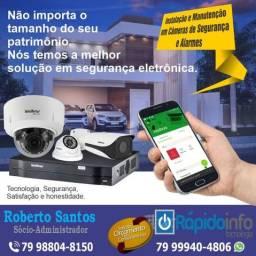 Câmeras segurança com acesso via celular