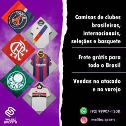 Camisas de futebol - VENDA E REVENDA (LEIA O ANÚNCIO)