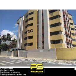Apartamento com 3 dormitórios à venda, 113 m² por R$ 550.000 - Intermarés - Cabedelo/PB