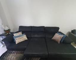 Sofá reclinável/retrátil