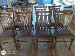 Cadeiras ripadas