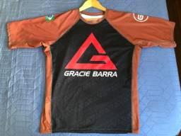 Rashguard Gracie Barra (Ranqueado/Marrom) XG