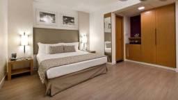 Flat todo montado para aluguel e venda possui 25 metros quadrados com 1 quarto na região C