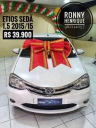 Boulevard automóveis Etios sedã Platinum 2015/15