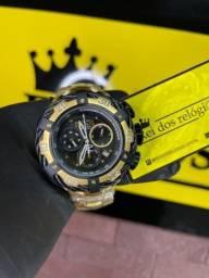 Relógio invicta thunderbolt c/ entrega grátis