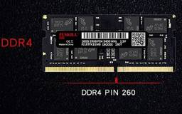 Memoria Ram DDR4 8GB 2666 mhz notebook alto desempenho