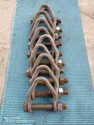 Manilha galvanizado capacidade 10TN com parafuso 1 polegada