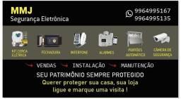 Manutenção instalação de segurança eletrônica
