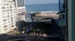 Apartamento à venda com 1 dormitórios em Copacabana, Rio de janeiro cod:CPAP10371