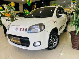 Fiat Uno Sporting 1.4 branca 2012