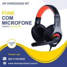 Fone de Ouvido Headset C3Tech Conexão Usb com Microfone