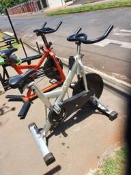 Bicicleta de spinning profissional de alumínio