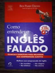 Livro usado - como entender o inglês falado - técnicas e exercícios (com 2 cds)