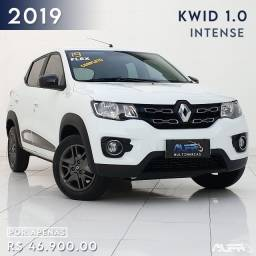 Kwid - Intense 1.0 Hatch Flex / 2019 Completo !! Apenas 23 mil rodados