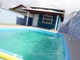 Ótima casa com piscina em Jaconé - Saquarema/RJ (Rua asfaltada) Ac financiamento