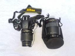 Nikon D5100 Original e Diversos Acessórios