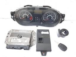 Kit Módulo de Injeção Renault Logan 2012 1.6 8v Flex