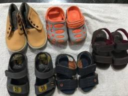 Vendo lote de calçados tamanho 20