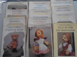 Livros infantis - 10 x 5 reais