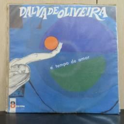 Lp Disco De Vinil Dalva De Oliveira - É Tempo De Amor *raro