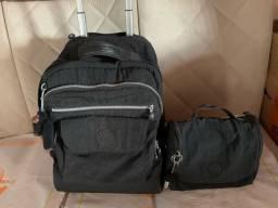 vendo kit mochila e lancheira kipling original
