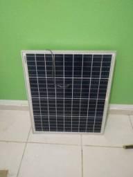 Vendo ou Troco placa solar de 60w