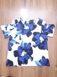 Blusa Feminina Estampada em Helanca