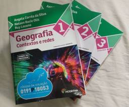 Livro contextos e redes, geografia
