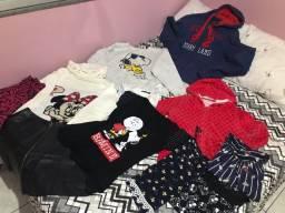 Combo de roupas femininas M