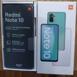 Xiaomi Redmi Note 10 6GB+128GB Versão global Onyx Grey Lacrado