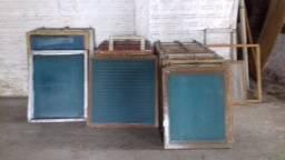 Quadros telas Alumínio estamparia