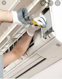 Técnico em ar condicionado split e de janela