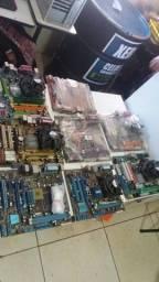 lote com 10 placas mães 775 DDR2 DDR3,AMD3+AMD2