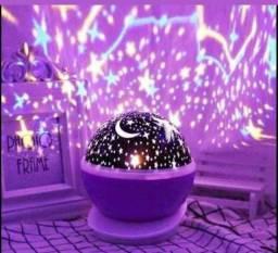 Abajur luminária céu estrelado. Novo com garantia