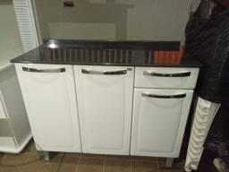 Balcão de Cozinha de 3 Portas 1 Gaveta novo