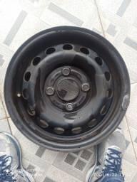 2 Roda de ferro aro 13/ da Ford furacão 4x108