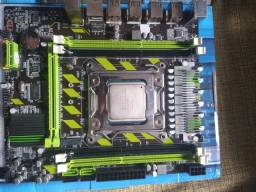 kit Xeon 2620 v2 / 8 gb ram DDR 3  / placa mãe atermiter x79