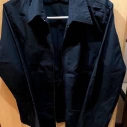 Blusa/camisa preta feminina
