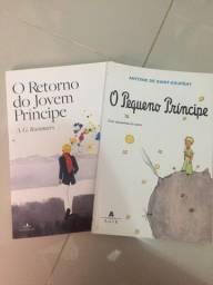 Vendo 2 Livros do Pequeno Príncipe