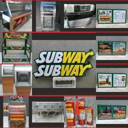 Subway itens loja vende tudo