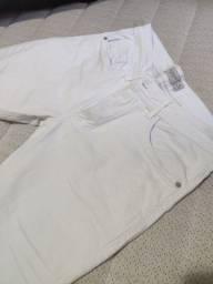 Calça jeans branca Nova