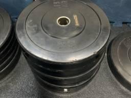 Anilhas 15 kg otimo estado