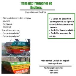 Caçamba de entulhos transajax 3347-2112
