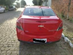 Raridade novo!!!! Prisma Vermelho LTZ câmbio manual motor 1.4 único dono