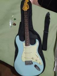 Guitarra + Pedaleira + Amplificador