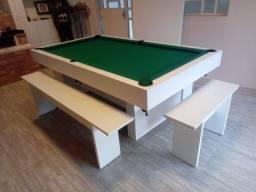 Mesa Sedução de Pedra Tecido Verde Mod. 916IW4AX